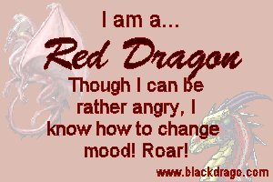 Red dragons are known for their passion, but more well-known for their anger
